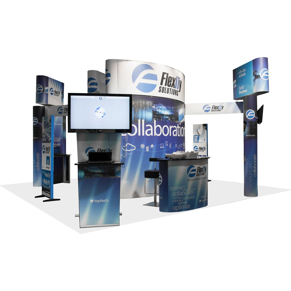 Ask 3D Exhibits: How Do I Make A Small or Two-Dimensional ... |Exhibit Booths Product