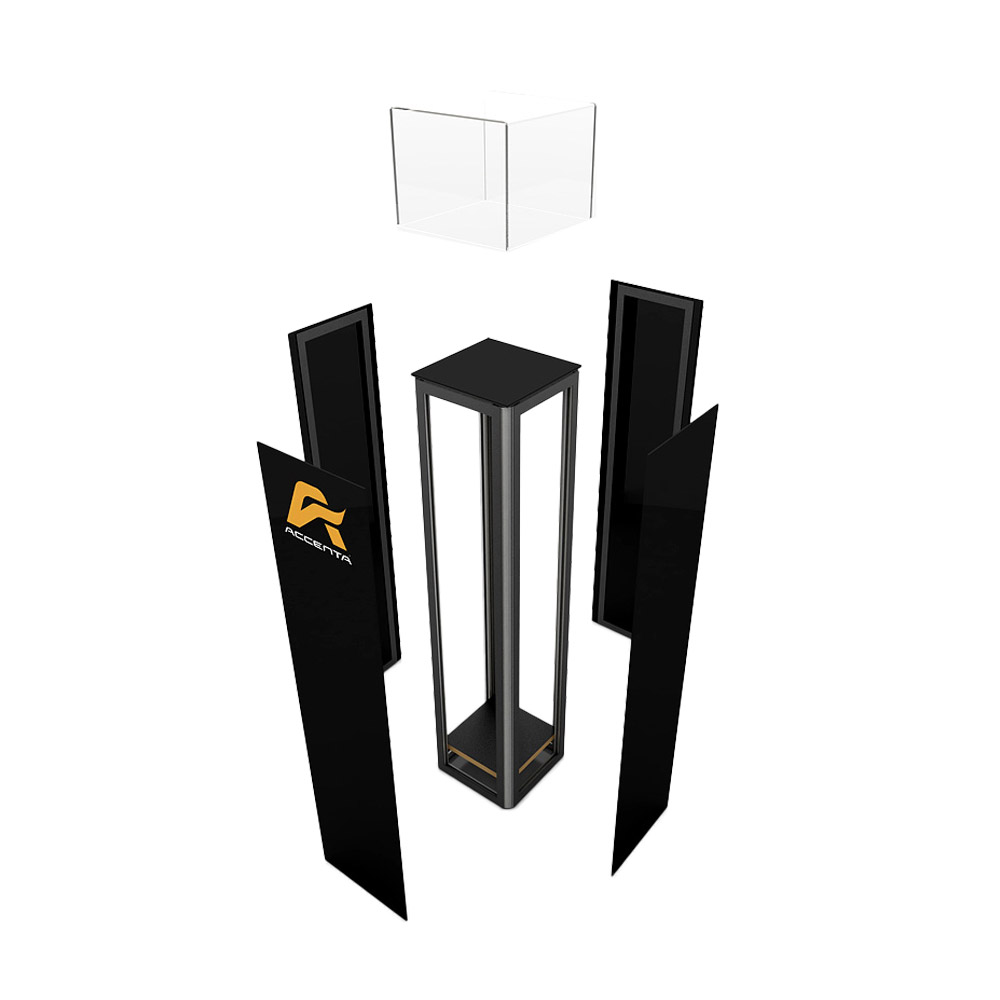 Pedestal Display Products Accenta Display Corporation