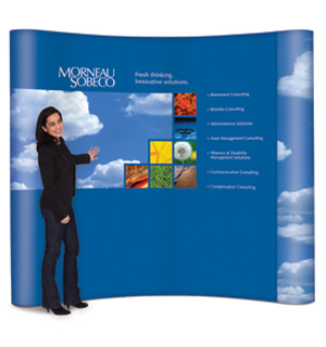Popup Elite, Custom POP Displays, Trade Show Booth, Portable